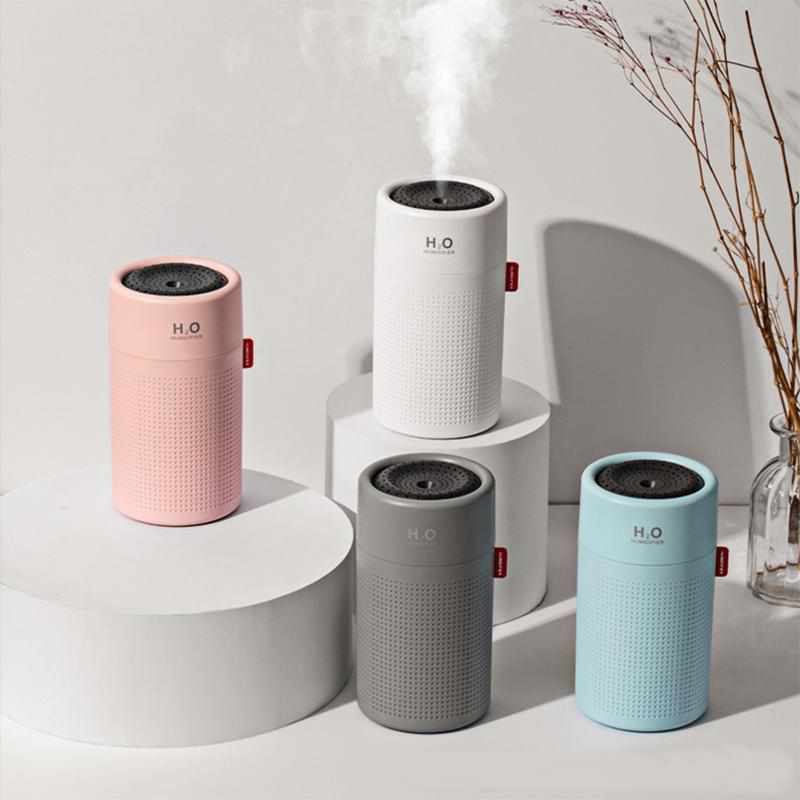 H₂O PureMist™ Slim Wireless Ultrasonic Cool Mist Humidifier - H2O
