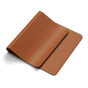 Satechi Eco-Leather Deskmate Computer Mat/Mouse Pad (Brown)