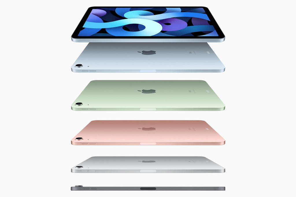 Apple iPad Air 4th Gen Wi-Fi 64GB (Available in Silver, Space Grey, Rose Gold, Green, Sky Blue)