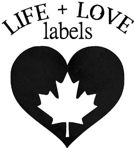 Life + Love Labels