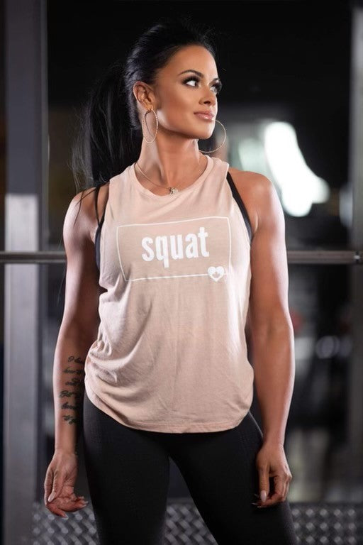 SQUAT - FITNESS MUSCLE TANK