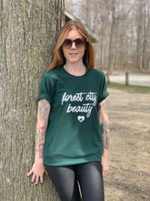 Load image into Gallery viewer, FOREST CITY BEAUTY/LONDON NEIGHBOURHOOD MAP - FASHION TEE