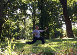 Christchurch Qigong Class - Outside