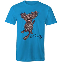 Load image into Gallery viewer, Let's Play Pup - Mens T-Shirt