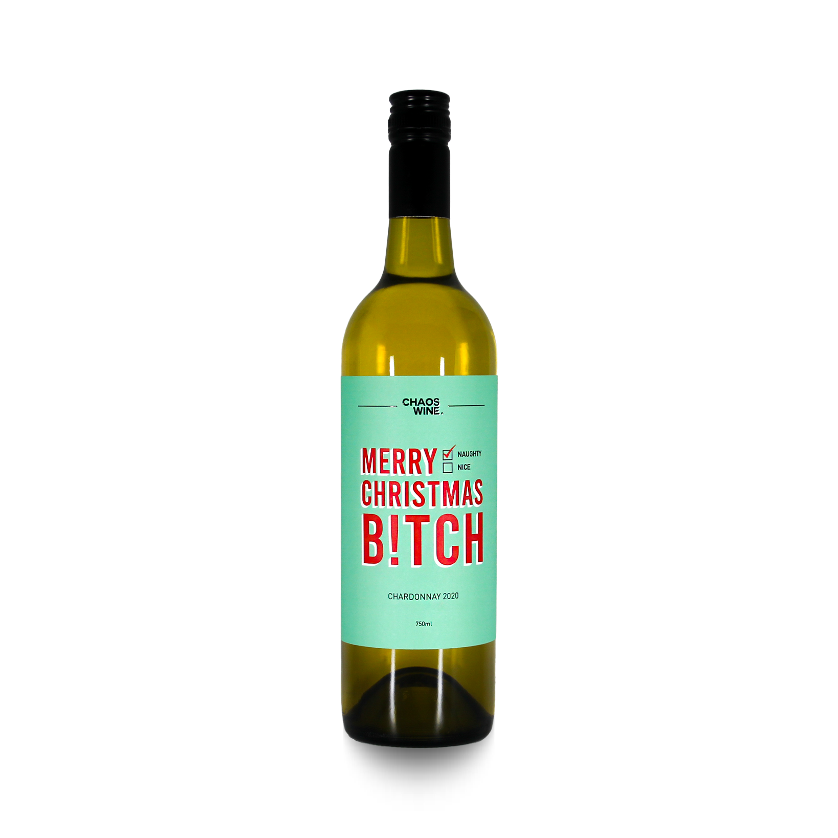 Merry Christmas Bitch wine