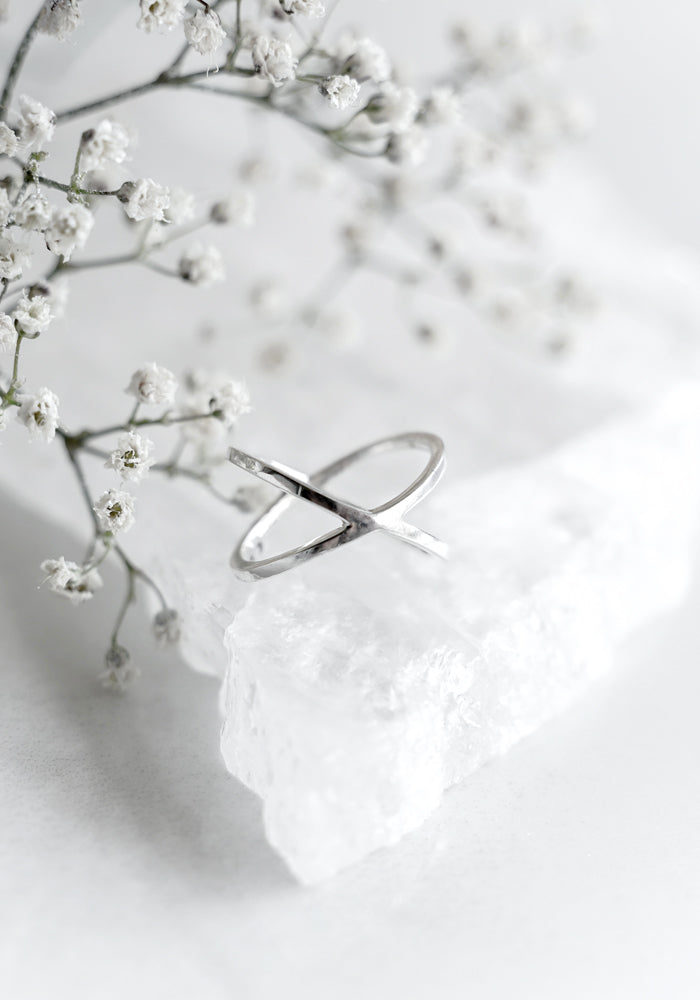 Sterling Silver Farah Ring by Lakiki Jewellery