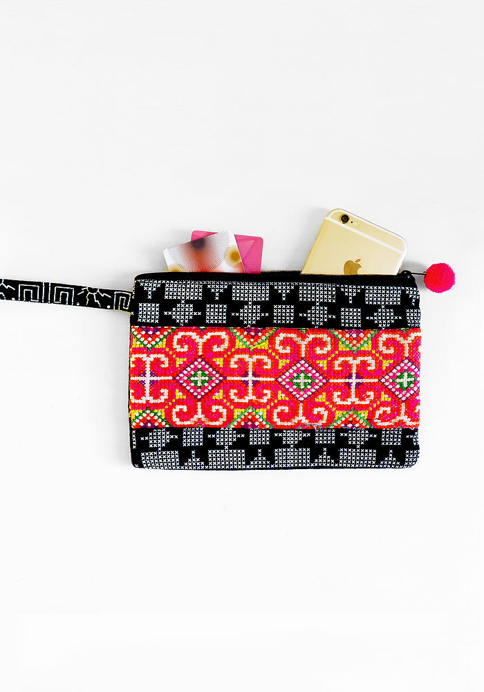 Kanda Clutch Wallet by Kasai, featured on Lakiki