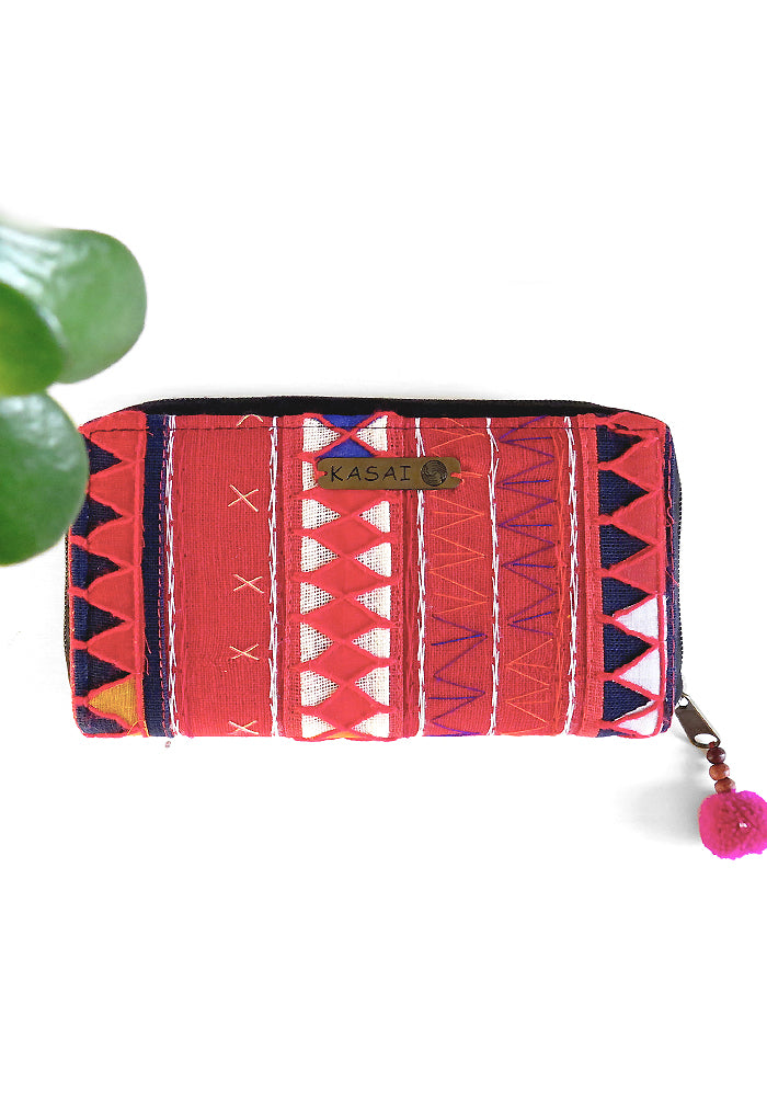 Kasai Veera Boho Wallet featured on Lakiki Jewellery