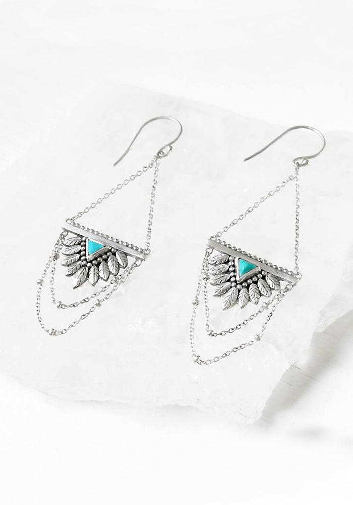 Zoella Turquoise Earrings