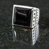 Thirty Two Cross Onyx Ring