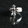 Budded Cross Women's Ring with Stone #MC05RS
