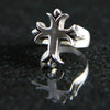 Budded Cross Men's Ring #MC06RP