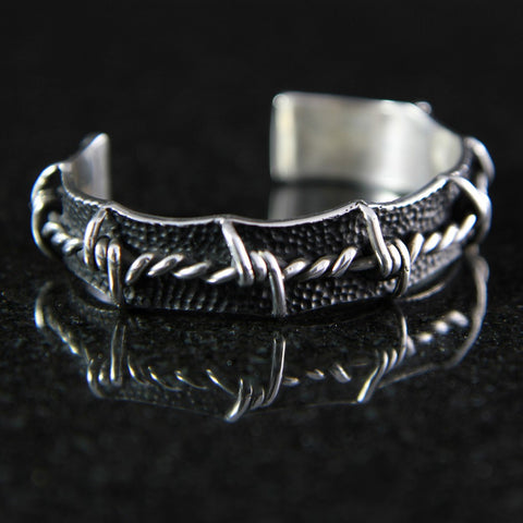 Barbed Wire Cuff Bracelet #MC02CB