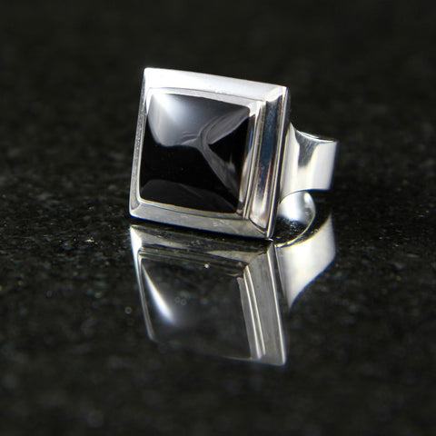 Alena Ring in Onyx