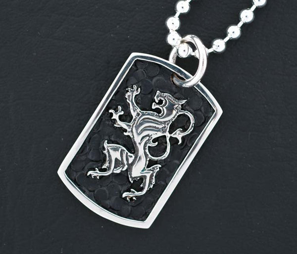 Lion Dog Tag