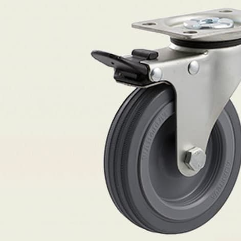 Castors - Light Duty ~ 50kg - 100kg