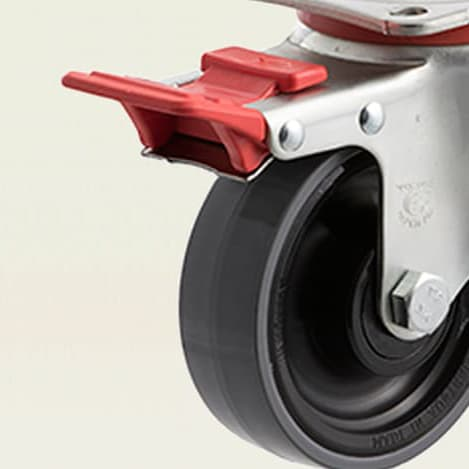 Light Industrial Castors - 150kg-300kg
