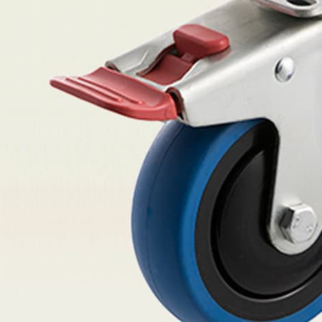Castors - Medium Duty ~ 85kg - 200kg