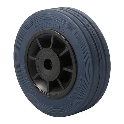 JBR Blue Rubber Wheels ~ 180KG