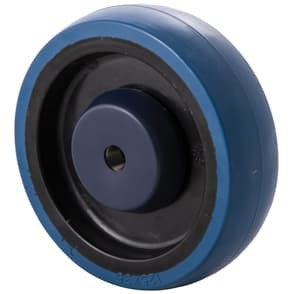 MBQ Blue Rubber Wheels  ~ 150KG