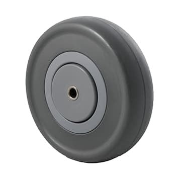 MSQ Grey Rubber Wheels  ~ 150KG