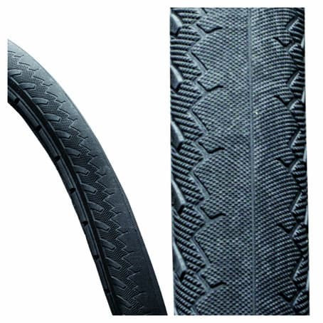 24X1 (25-540) Puncture Proof Wheelchair Tyre
