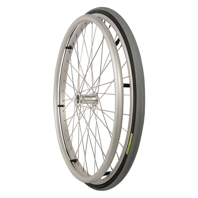 24 inch Alloy Spoked Wheelchair Wheel
