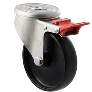 125mm Nylon Castors - 300KG Rated