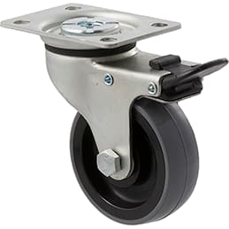 75mm Polyurethane Castors - 100KG Rated