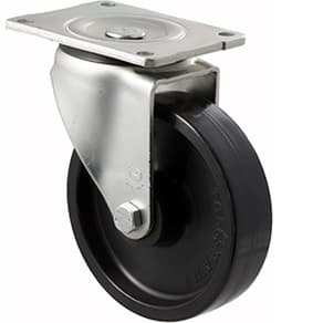 150mm Nylon Swivel Plate Castor