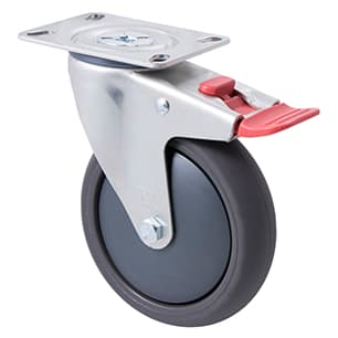 125mm Polyurethane Castors - 200KG Rated