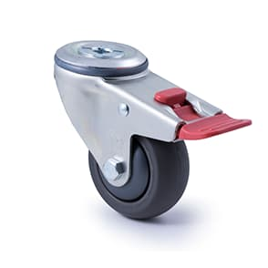 75mm Polyurethane Castors - 200KG Rated