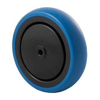 CBQ Blue Rubber Wheels ~ 100KG
