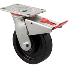 150mm Nylon Castors - 600KG Rated