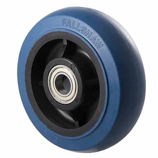 OBQ Blue Rubber Wheels ~ 400KG