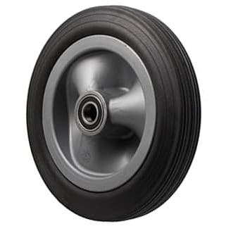 Black Rubber Tyre Utility Wheel ~ 150KG Rated