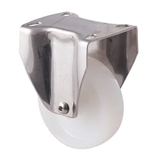 100mm Nylon Stainless Steel Castors - 150KG Rated