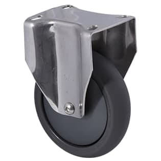125mm Polyurethane Stainless Steel Castors - 200KG Rated