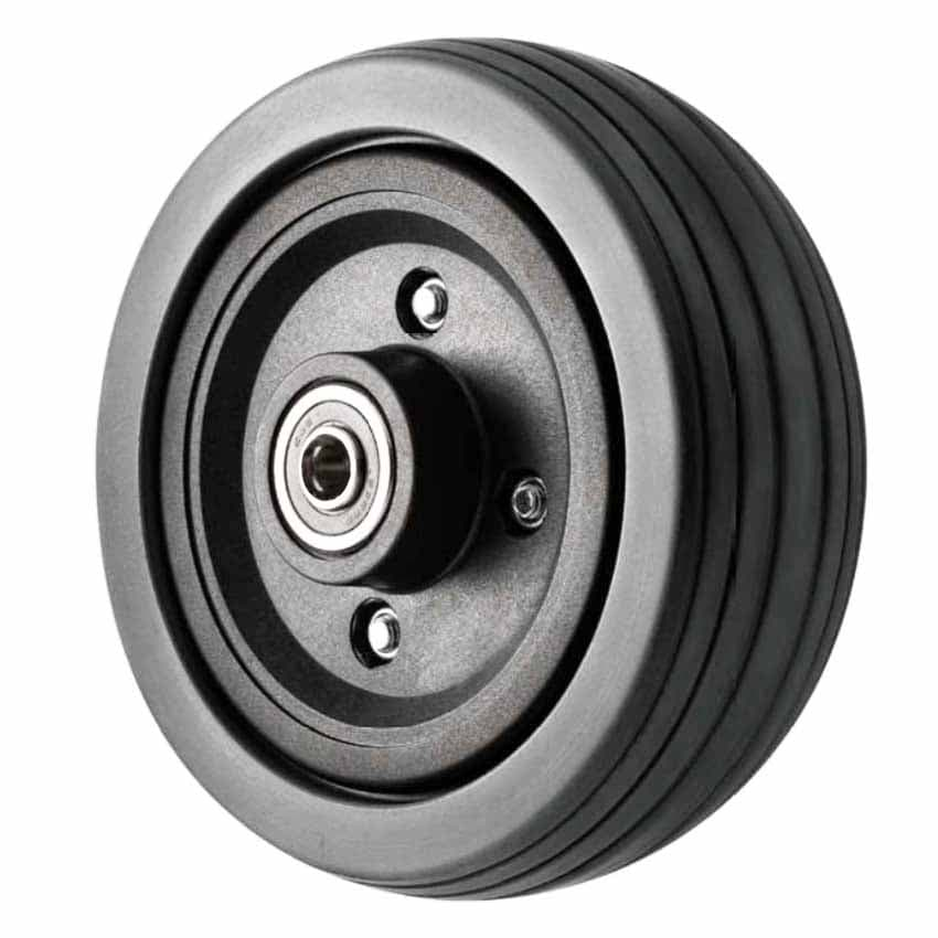 6 inch Power Chair Wheel Grey Tyre
