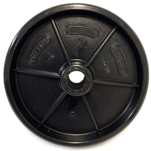 "8"" HDPE Polyethylene Wheel"