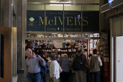 McIver's Coffee & Tea store