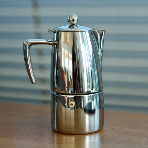 Avanti 'Art Deco' Stainless Steel Stovetop Pot