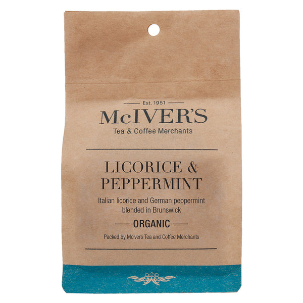 Organic Licorice Peppermint tea