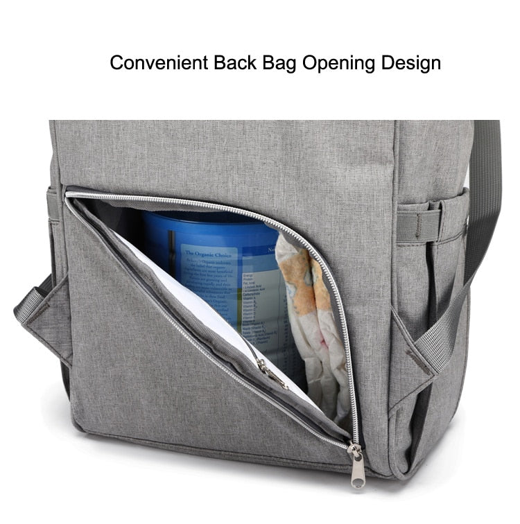 Nappy bag/ backpack with USB