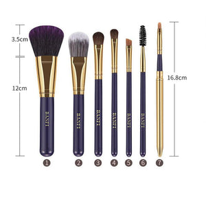 7pcs/set Purple Makeup Brushes