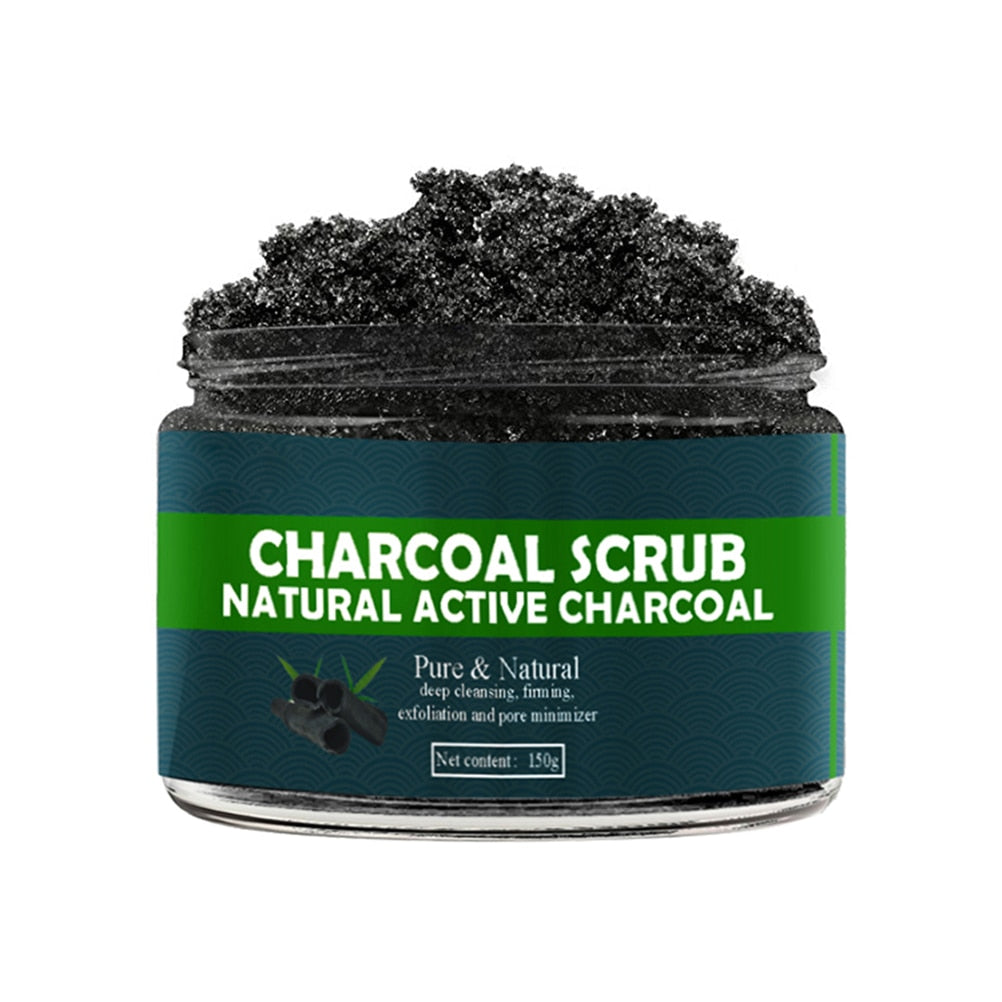 Bamboo Charcoal Face & Body Scrub