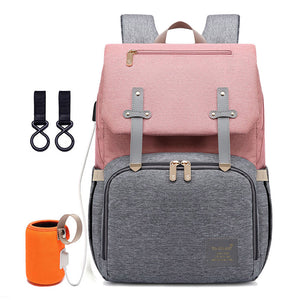 Travel/ nappy bag with usb/ bottle warmer