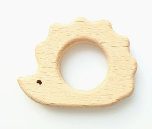 Natural Wooden Baby Teether