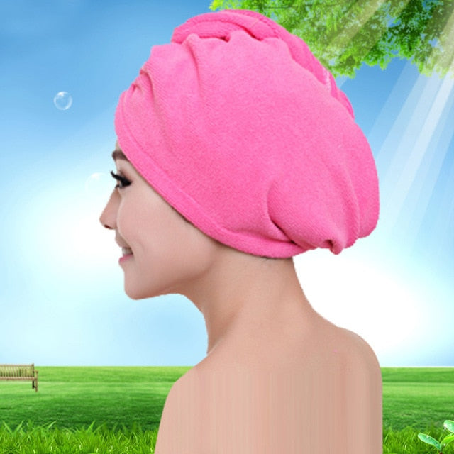 Microfibre Hair Drying Wrap