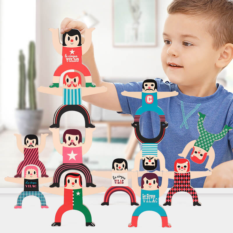 balanced stacking toys for kids-Stemlix